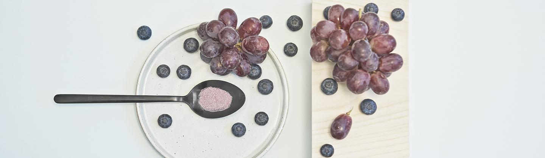 Ingredienser get glow druvkärnextrakt druvskalsextrakt blåbär